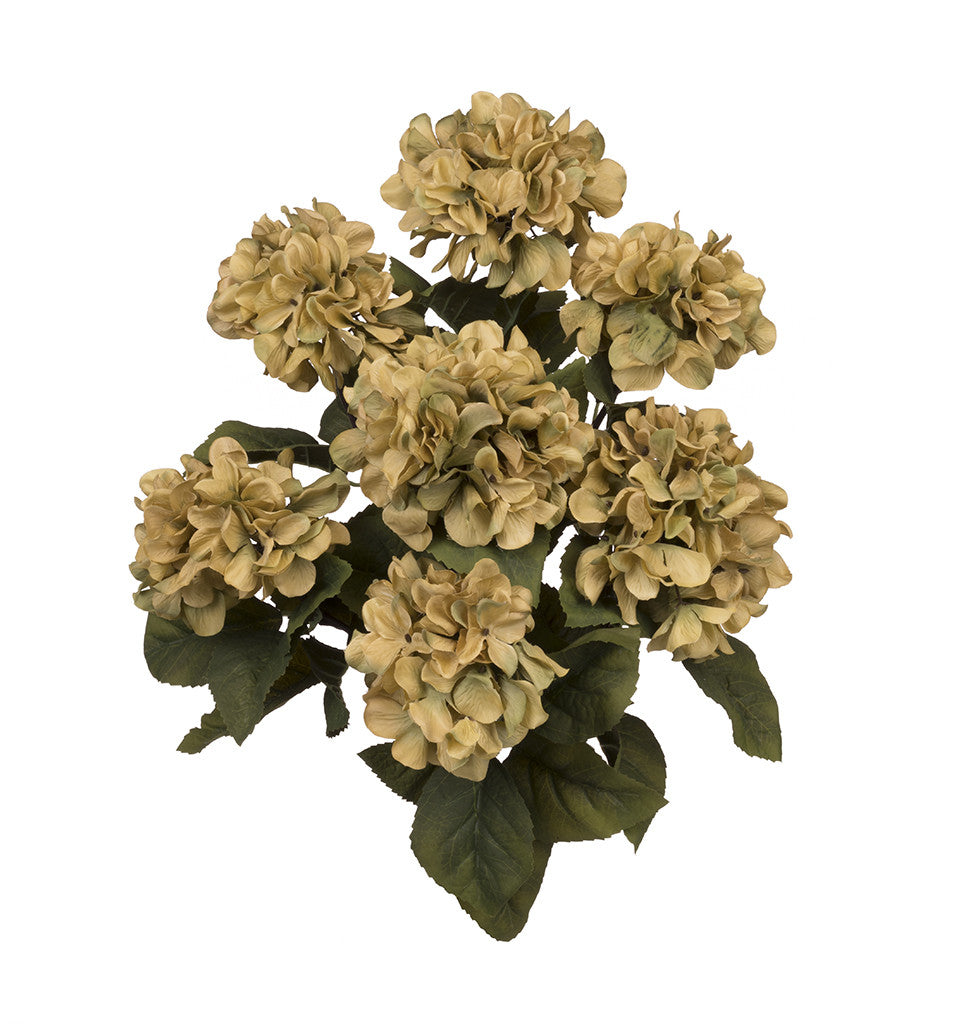 "Artificial 20"" Hydrangea Bush - House of Silk Flowers®  - 5"