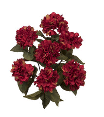 "Artificial 20"" Hydrangea Bush - House of Silk Flowers®  - 7"