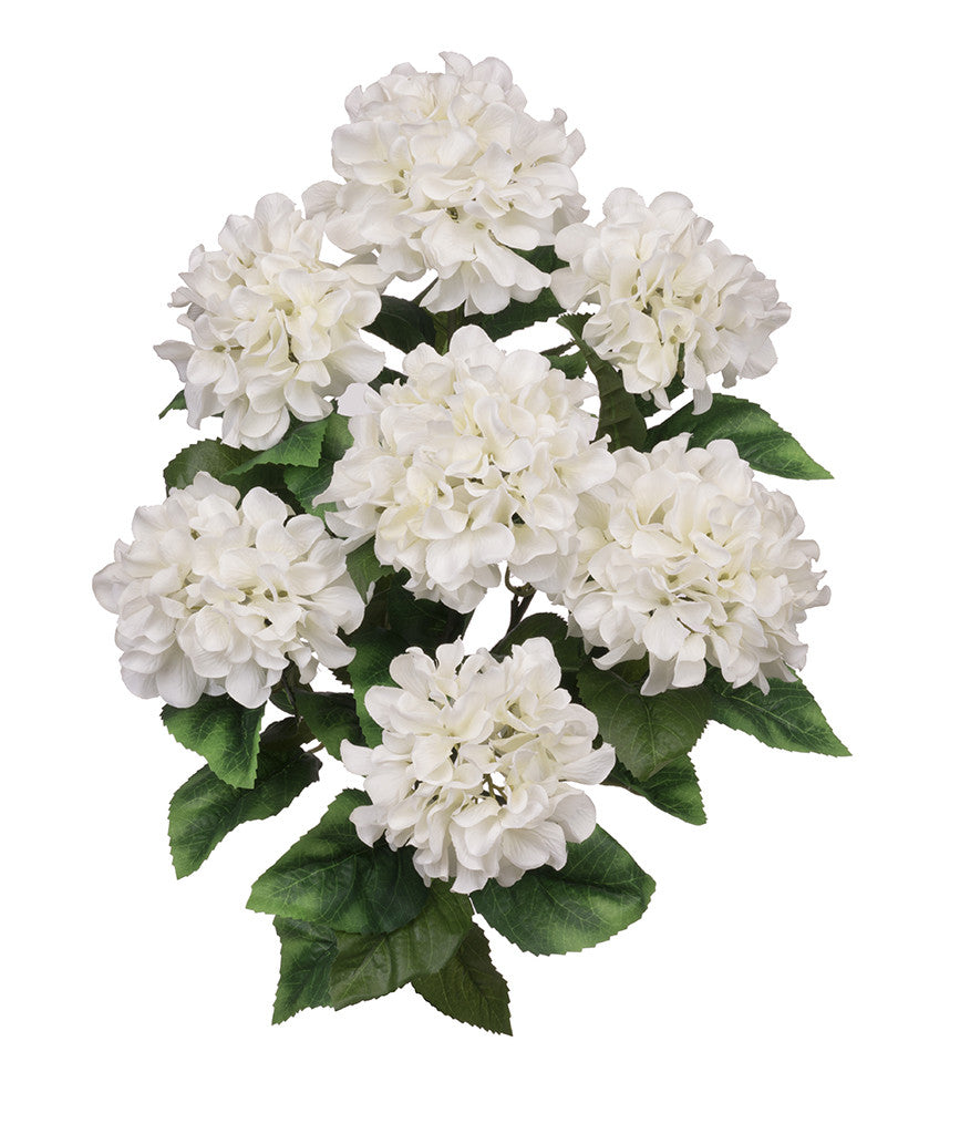 "Artificial 20"" Hydrangea Bush - House of Silk Flowers®  - 11"