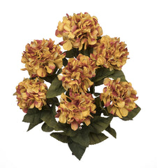 "Artificial 20"" Hydrangea Bush - House of Silk Flowers®  - 12"