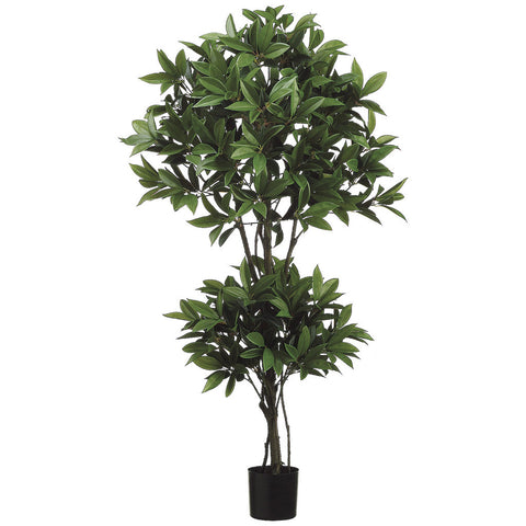 Artificial 55-inch Shikiba Double Ball Topiary