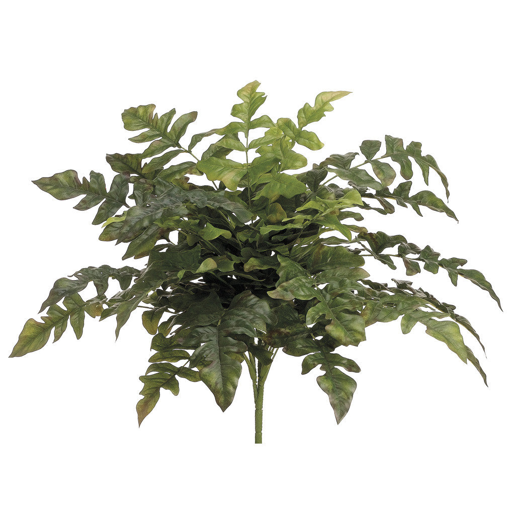 "Artificial 21"" Royal Fern Bush - Set of 2 - House of Silk Flowers®"