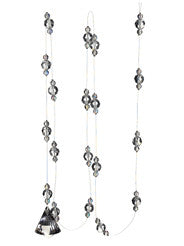 6-foot Clear Crystal Pendant Garland