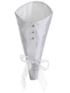 "Cream 13"" Satin Bouquet Wrap - House of Silk Flowers®"