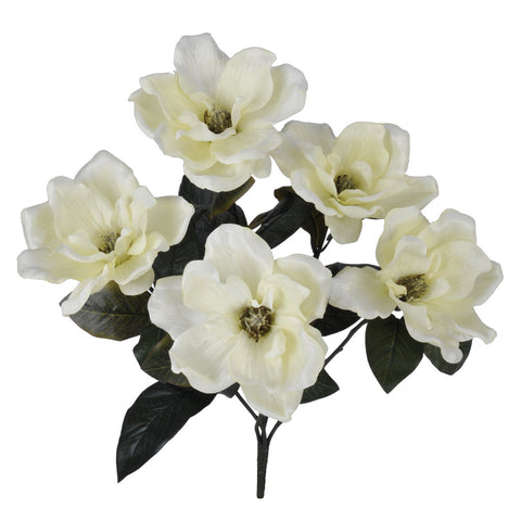 "Artificial 21"" Magnolia Bush - House of Silk Flowers®  - 2"