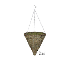 Artificial Clematis Hanging Basket - House of Silk Flowers®  - 8