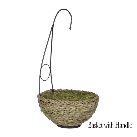 Artificial Mini Bougainvillea Hanging Basket - House of Silk Flowers®  - 5