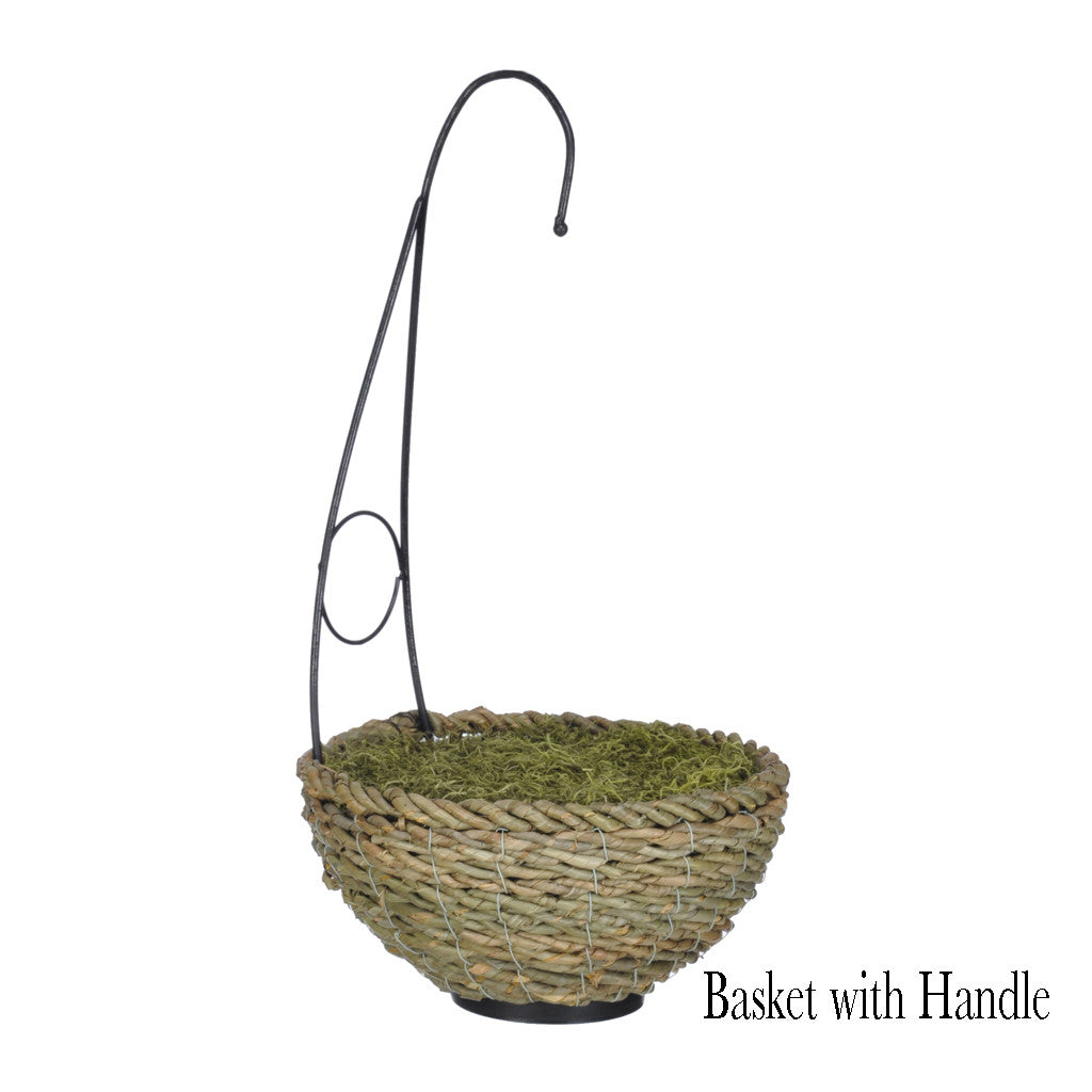 Artificial Clematis Hanging Basket - House of Silk Flowers®  - 9