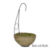 reed hanging basket