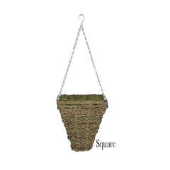 Artificial Geranium (WT) Hanging Basket - House of Silk Flowers®  - 8