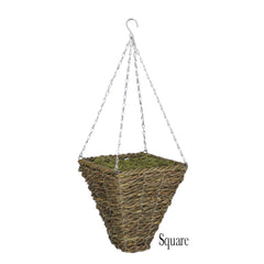 Artificial Clematis Hanging Basket - House of Silk Flowers®  - 11