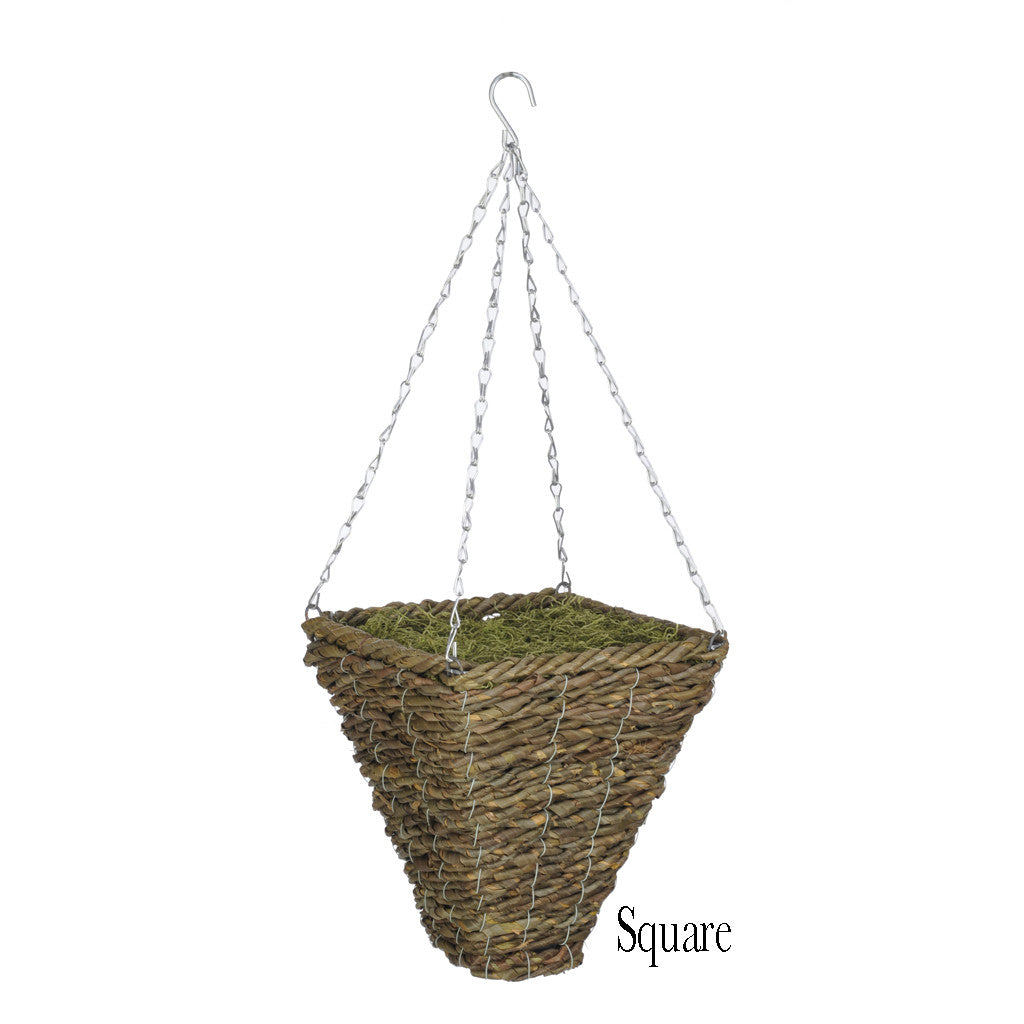 Artificial Geranium (WT) Hanging Basket - House of Silk Flowers®  - 9