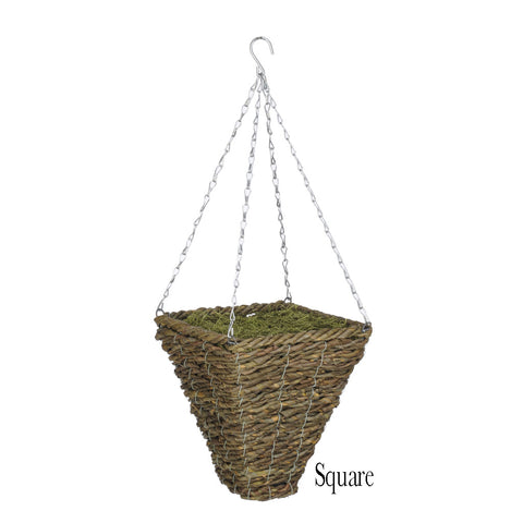 Artificial Hibiscus Hanging Basket - House of Silk Flowers®  - 15