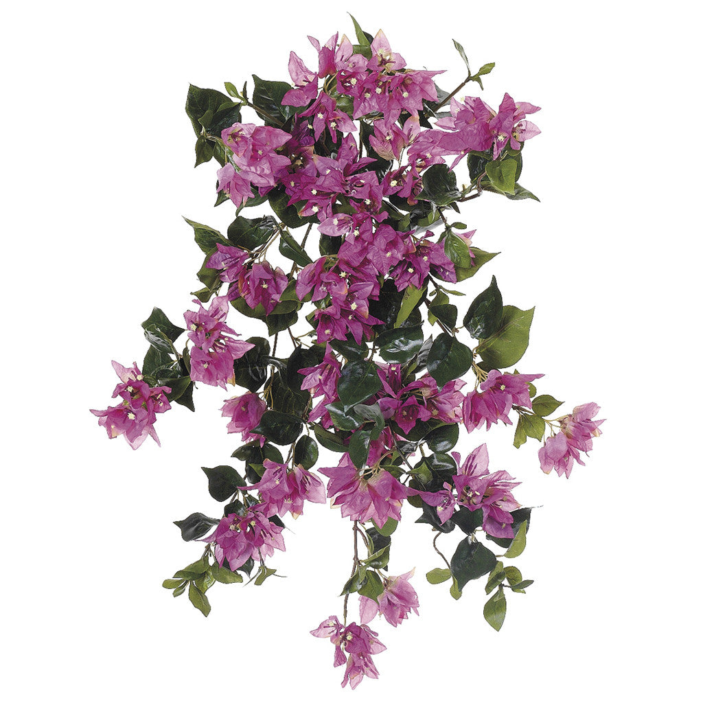 Artificial 24 Inch Bougainvillea Trailing Bush Set Of 6 House Of Silk Flowers