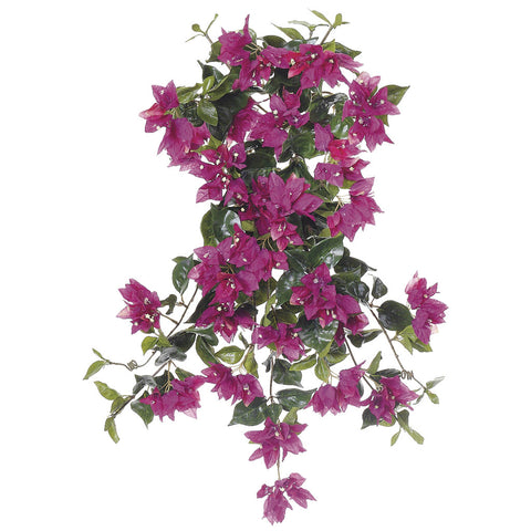 "Artificial 24"" Bougainvillea Trailing Bush - House of Silk Flowers®  - 3"
