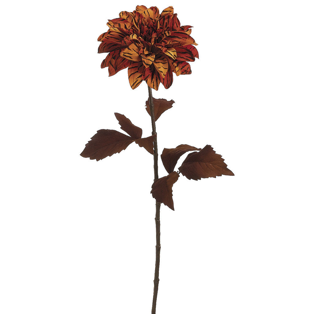 "28"" Dahlia Stem (Set of 2) - House of Silk Flowers®  - 1"