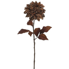 "28"" Dahlia Stem (Set of 2) - House of Silk Flowers®  - 3"