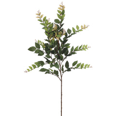"Artificial 35"" Eucalyptus Spray (Set of 2) - House of Silk Flowers®  - 1"