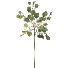 "Artificial 27"" Green Eucalyptus Spray (Set of 3) - House of Silk Flowers®"