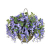 Artificial Wisteria Hanging Basket - House of Silk Flowers®  - 1