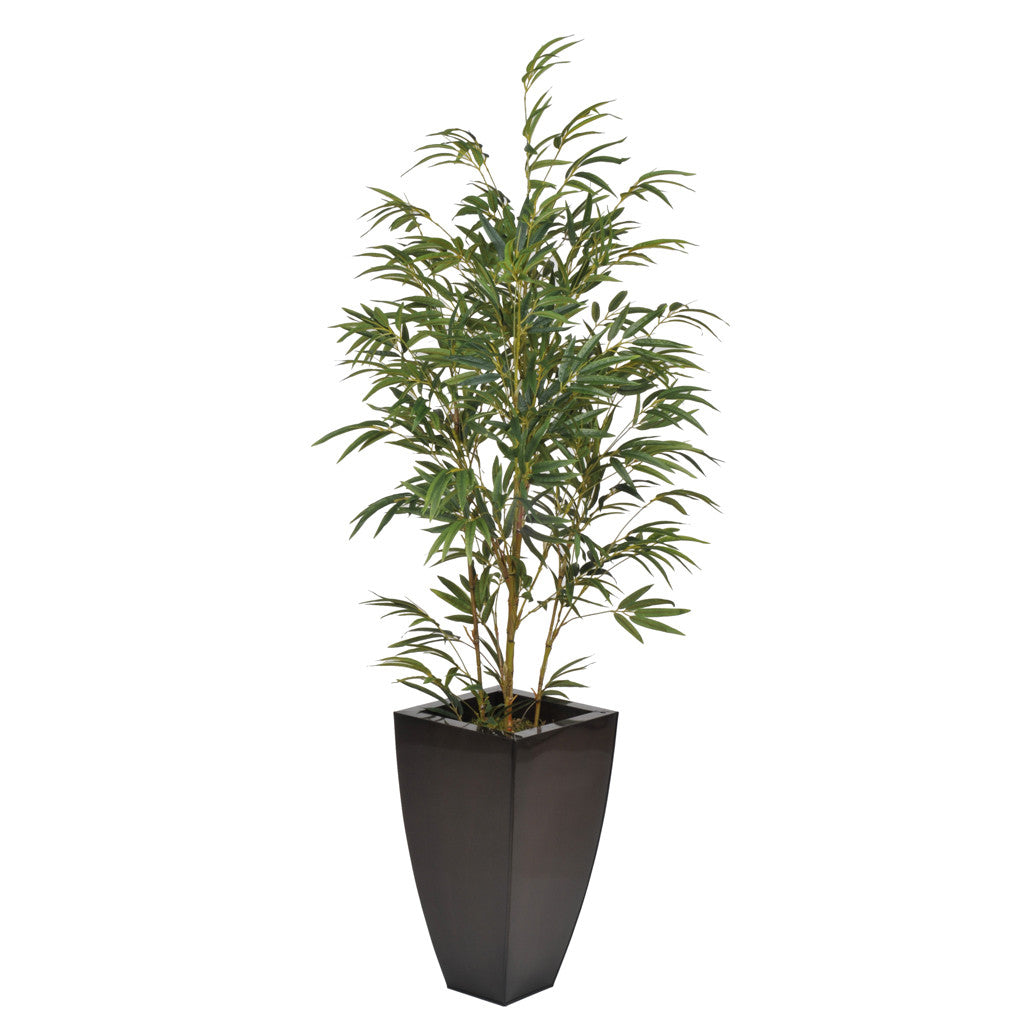 Artificial 5ft Yellow Bamboo in Planter - House of Silk Flowers®  - 3