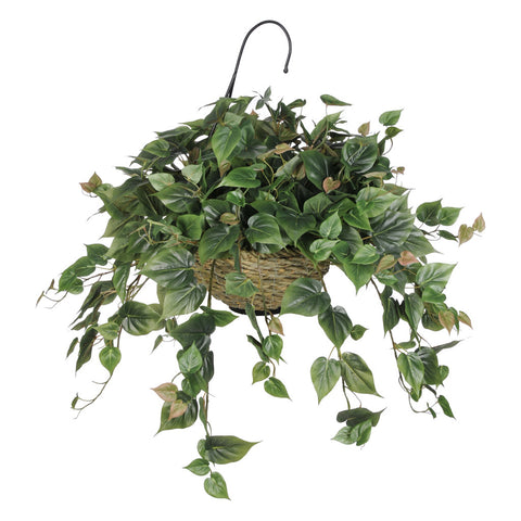 Artificial Philo Hanging Basket - House of Silk Flowers®