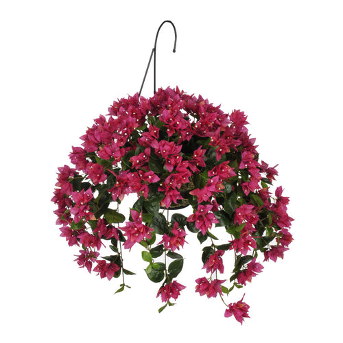 Artificial Bougainvillea Hanging Basket - House of Silk Flowers®  - 2