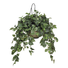 Artificial Pothos Hanging Basket - House of Silk Flowers®