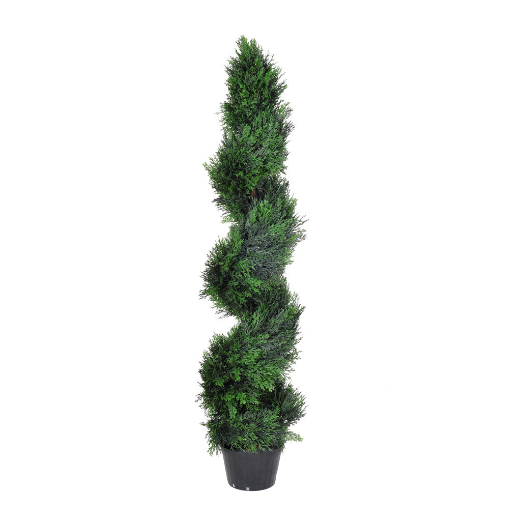 Artificial Cedar Spiral Topiary - House of Silk Flowers®  - 2