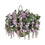 Artificial Wisteria Hanging Basket - House of Silk Flowers®  - 4