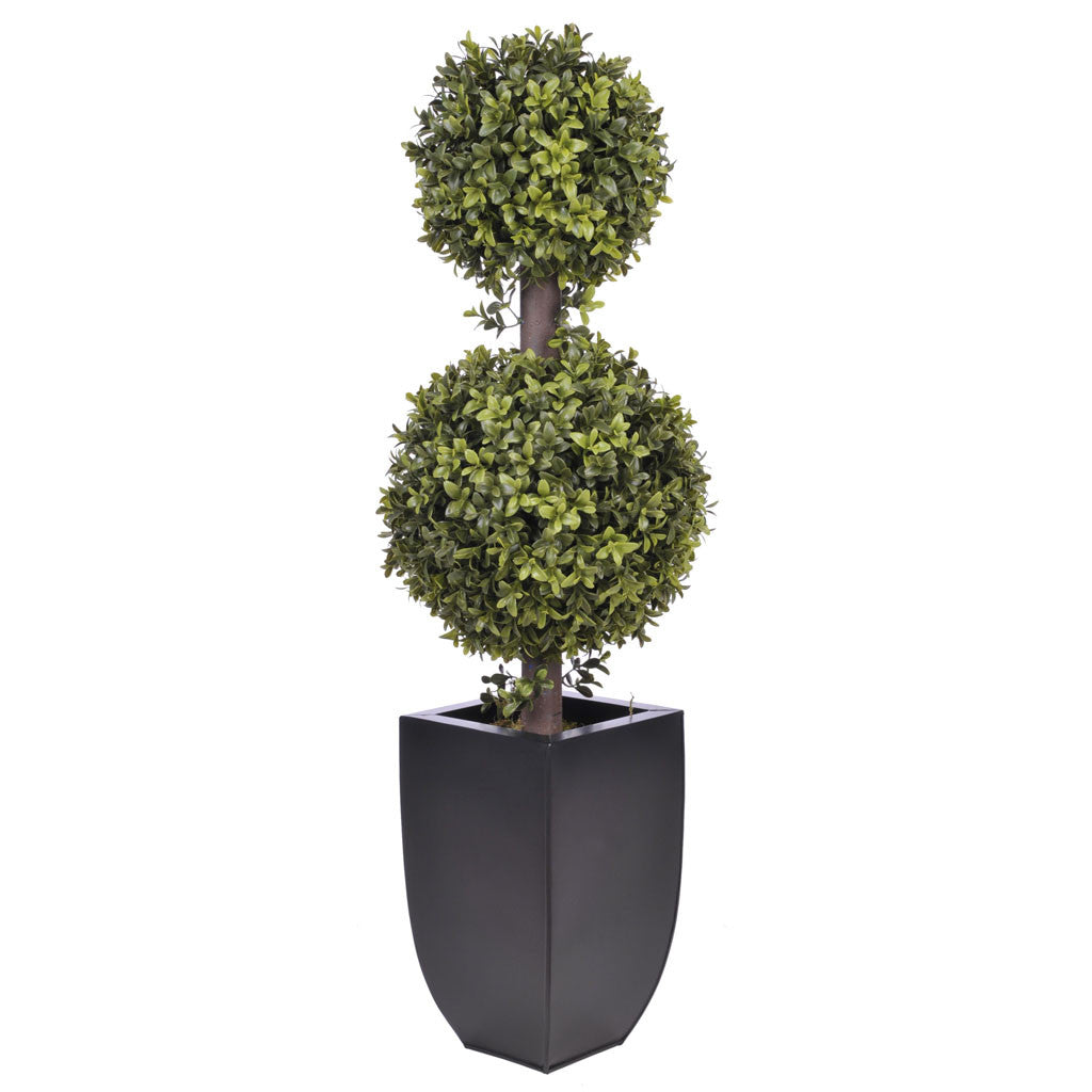 Artificial 2' Double Ball Topiary in Pot - House of Silk Flowers®  - 3