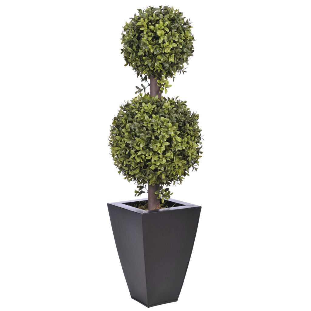 Artificial 2' Double Ball Topiary in Pot - House of Silk Flowers®  - 7