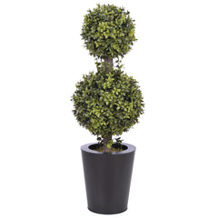 Artificial 2' Double Ball Topiary in Pot - House of Silk Flowers®  - 9