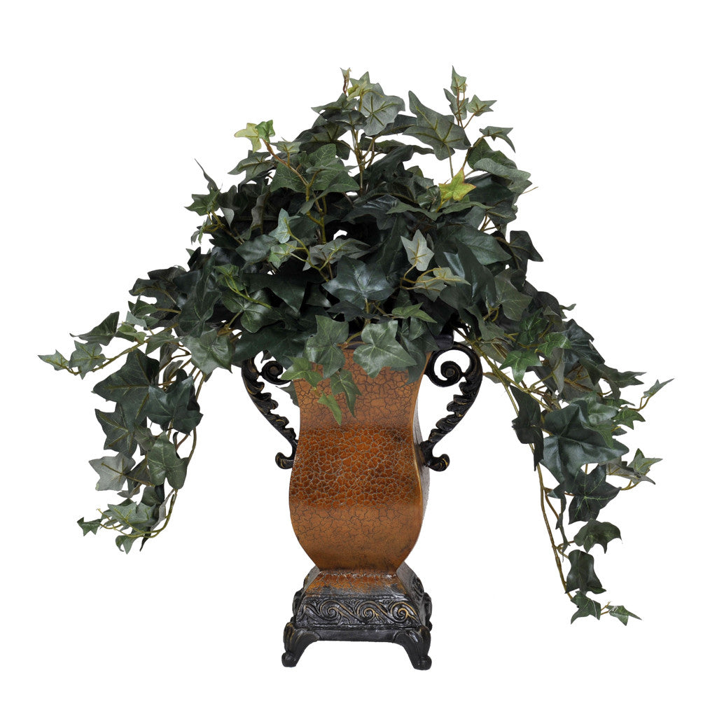 Artificial English Ivy In Traditional Vase House Of Silk