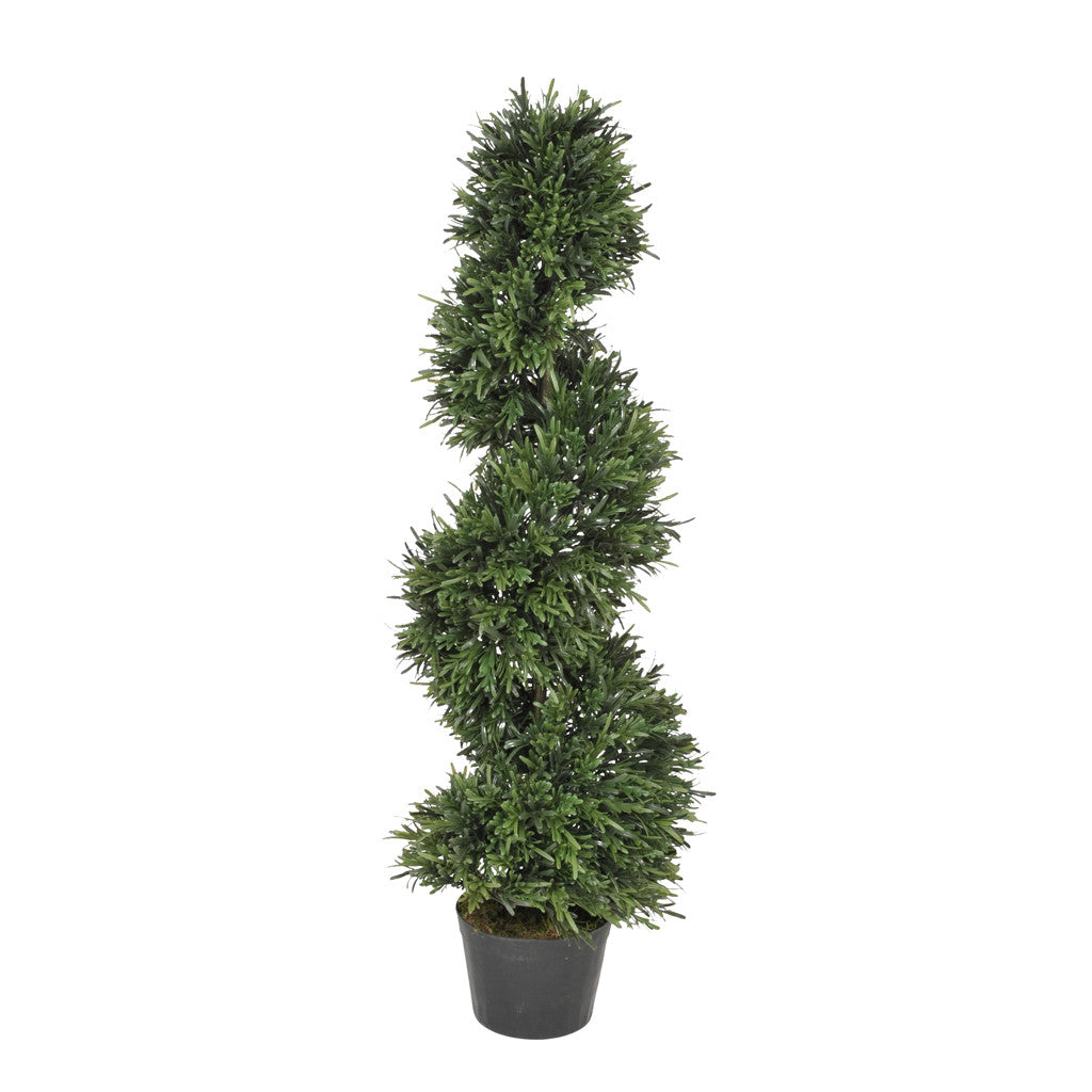 Artificial Rosemary Spiral Topiary - House of Silk Flowers®  - 1