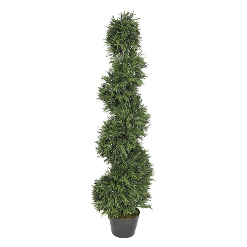 Artificial Rosemary Spiral Topiary - House of Silk Flowers®  - 2