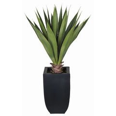 Artificial Tabletop Yucca in Zinc Vase - House of Silk Flowers®  - 2