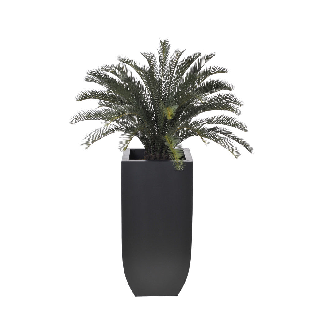 Artificial Sago Palm in Zinc Vase - House of Silk Flowers®  - 2