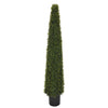Artificial Boxwood Pyramid Topiary - House of Silk Flowers®  - 2