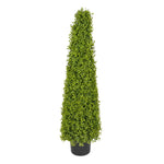 Artificial Boxwood Pyramid Topiary - House of Silk Flowers®  - 4