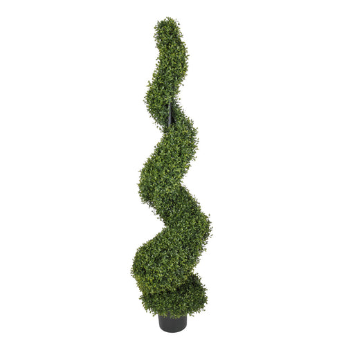 Artificial Boxwood Spiral Topiary - House of Silk Flowers®  - 2