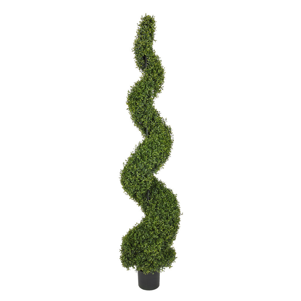 Artificial Boxwood Spiral Topiary - House of Silk Flowers®  - 3