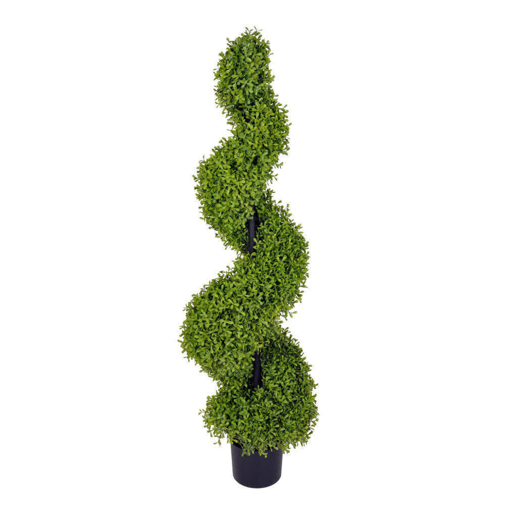 Artificial Boxwood Spiral Topiary - House of Silk Flowers®  - 4