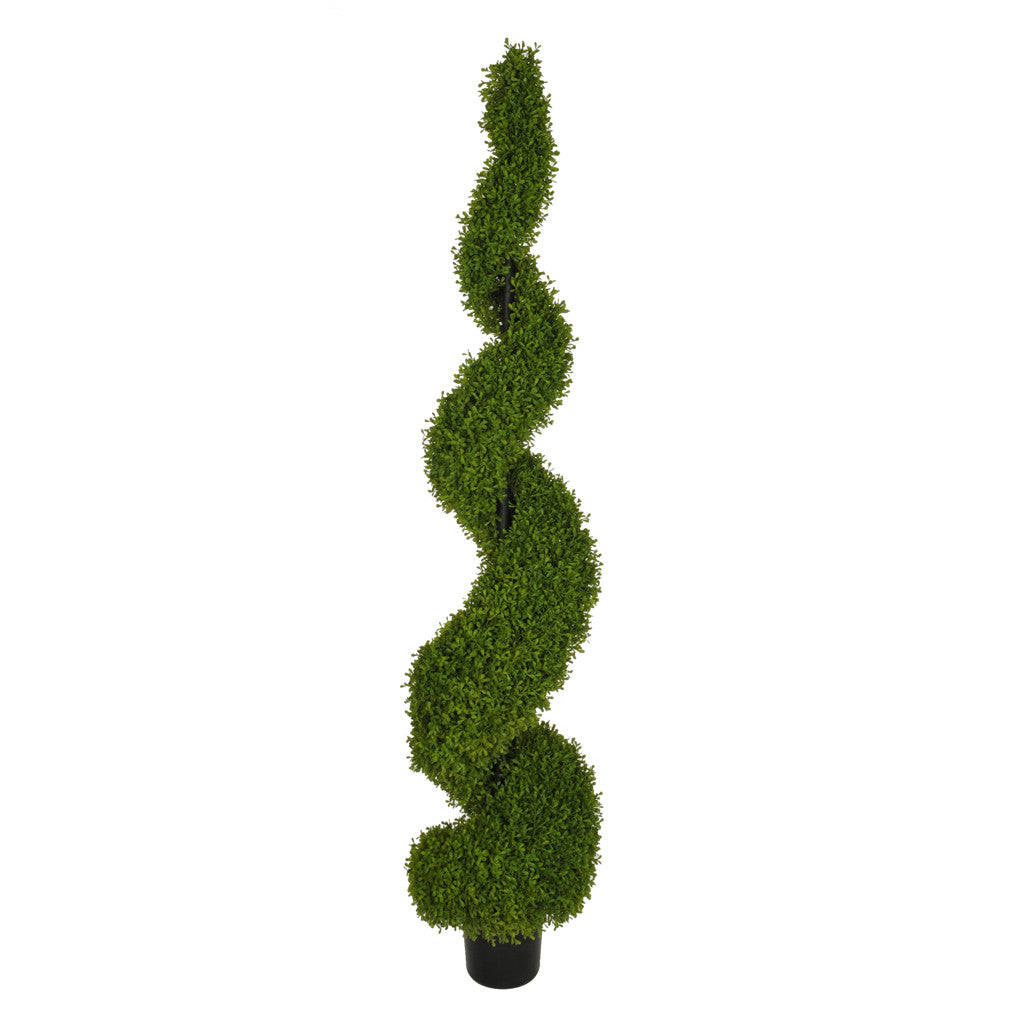 Artificial Boxwood Spiral Topiary - House of Silk Flowers®  - 5