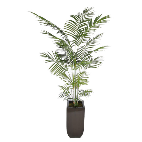 Artificial 7.5ft Areca Palm Tree in Large Zinc - House of Silk Flowers®  - 5