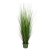 "42"" Artificial Green PVC Grass House of Silk Flowers®"