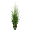 "55"" Artificial Green PVC Grass House of Silk Flowers®"
