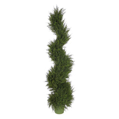 Artificial Juniper Spiral Topiary - House of Silk Flowers®  - 2