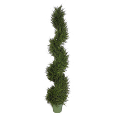 Artificial Juniper Spiral Topiary - House of Silk Flowers®  - 3