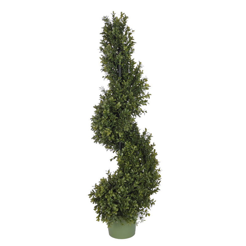 Artificial Boxwood Spiral Topiary - House of Silk Flowers®  - 1
